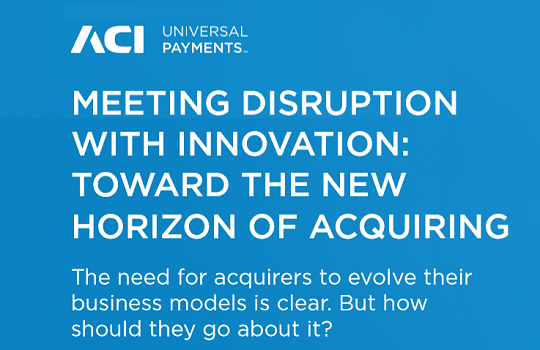 Meeting Disruption with Innovation