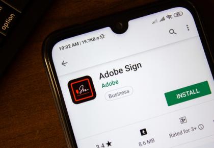 Adobe Sign IRAP