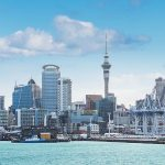 Auckland skyline and harbour