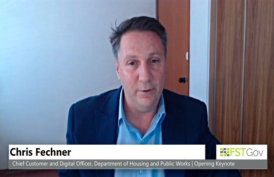 Chris Fechner, Queensland Chief Digital Customer