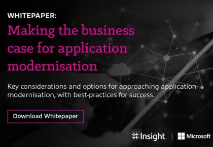Making the business case for application modernisation