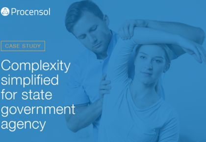 Complexity simplified for state government agency