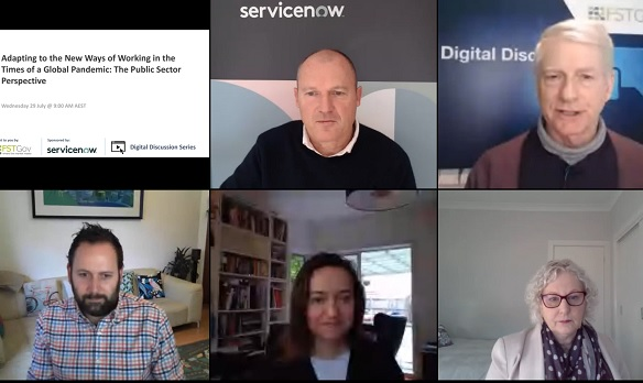 ServiceNow Panel Victoria Digital Discussion Remote Working